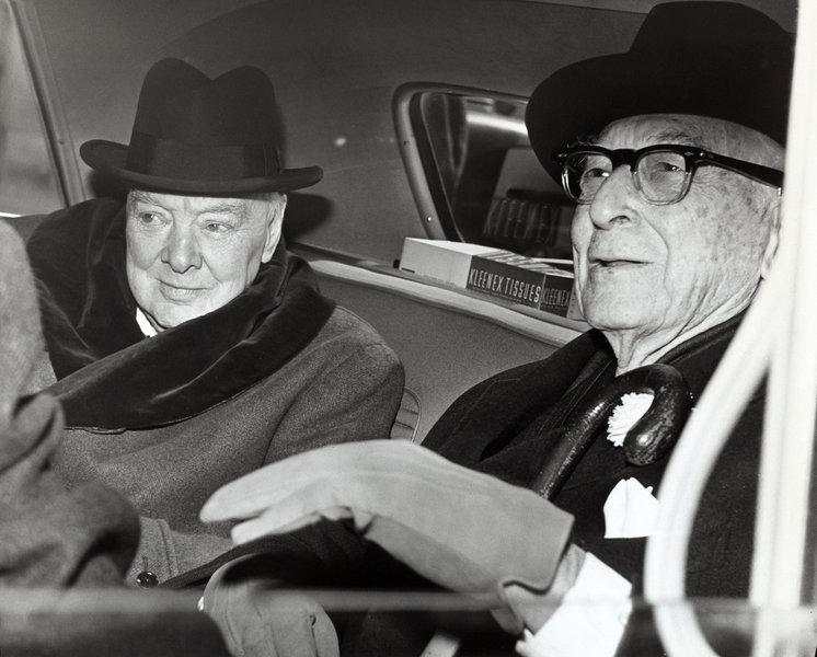 Winston Churchill und Bernard Baruch, 14 April 1961.jpg
