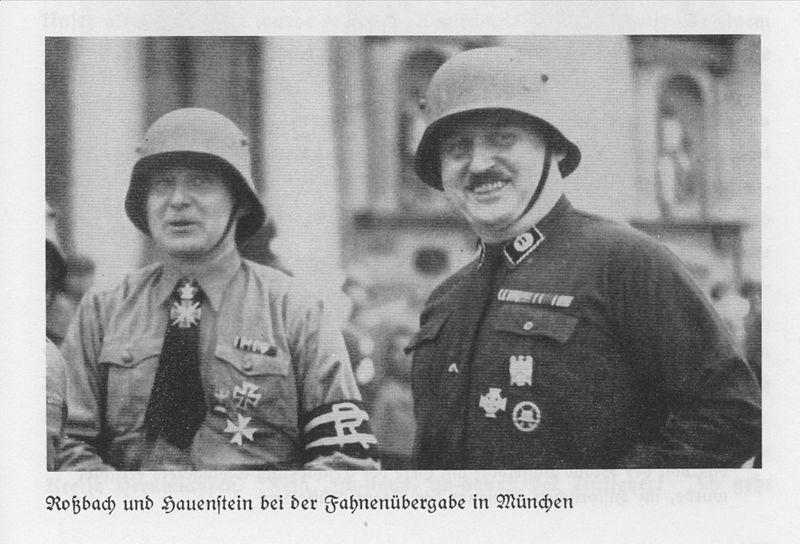 Datei:Gerhard Roßbach und Heinz Oskar Hauenstein.jpg